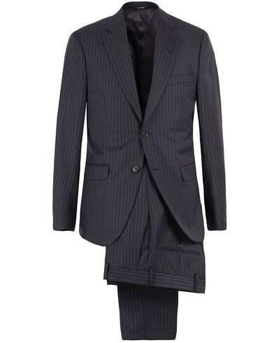Tiger of Sweden Gekko Pinstripe Wool Suit Navy i gruppen Klær / Dresser hos Care of Carl (13473911r)
