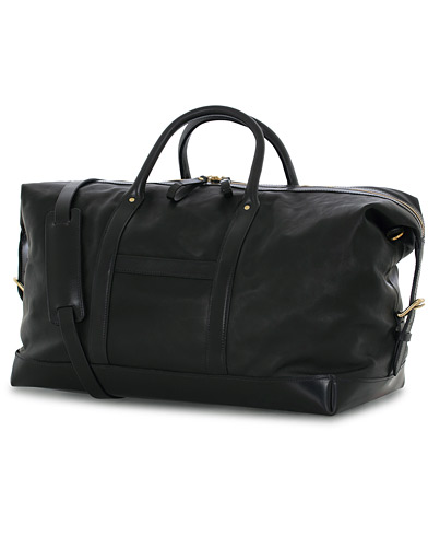 Tärnsjö Garveri Icon Weekender Large Black  i gruppen Väskor / Weekendbags hos Care of Carl (13474210)
