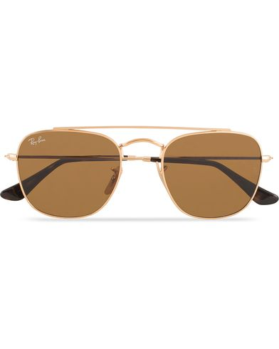 Ray-Ban 0RB3557 Sunglasses Gold  i gruppen Solglas�gon hos Care of Carl (13475210)