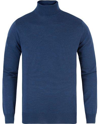 Morris Heritage Turtleneck Blue i gruppen Tröjor / Polotröjor hos Care of Carl (13475411r)