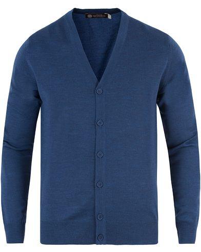 Morris Heritage Cardigan Blue i gruppen Kläder / Tröjor / Cardigans hos Care of Carl (13475511r)