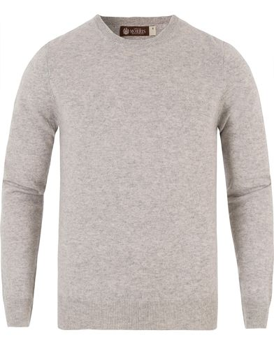 Morris Heritage Cashmere O-Neck Grey i gruppen Kläder / Tröjor / Stickade tröjor hos Care of Carl (13475711r)
