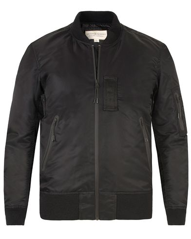 Denim & Supply Ralph Lauren MA1 Bomber Jacket Black i gruppen Jackor / Bomberjackor hos Care of Carl (13476811r)