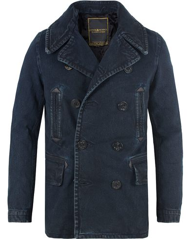 Denim & Supply Ralph Lauren Peacoat Denim Jacket Blue i gruppen Kläder / Jackor / Skepparkavajer hos Care of Carl (13476911r)