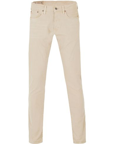 Polo Ralph Lauren Slim Fit Sullivan Stretch Jeans Anderson Beige i gruppen Kläder / Jeans / Avsmalnande jeans hos Care of Carl (13479711r)
