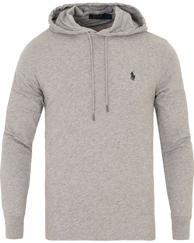 Polo Ralph Lauren Featherweight Pima Hoodie Andover Heather i gruppen Tröjor / Huvtröjor hos Care of Carl (13480511r)