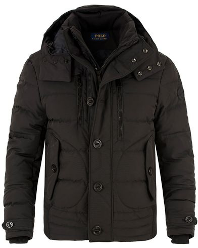 Polo Ralph Lauren Metropolis Down Jacket Polo Black i gruppen Kläder / Jackor / Vadderade jackor hos Care of Carl (13483411r)