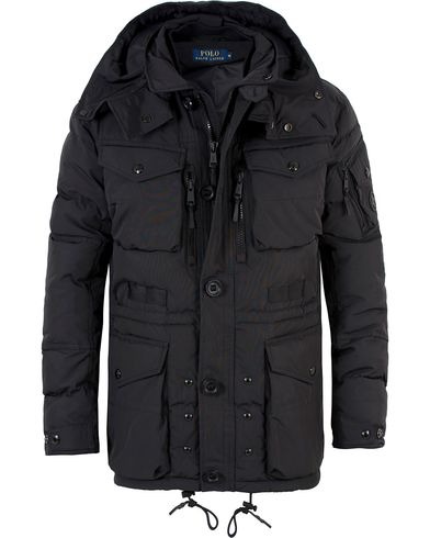 Polo Ralph Lauren Q-Smock Down Jacket Polo Black i gruppen Kläder / Jackor / Vadderade jackor hos Care of Carl (13483511r)