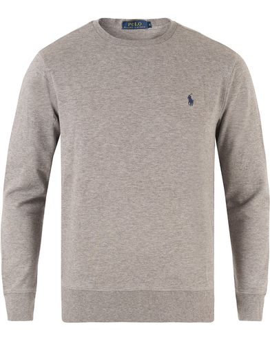 Polo Ralph Lauren Double Jersey Sweatshirt Winter Grey Heather i gruppen Tröjor / Sweatshirts hos Care of Carl (13484511r)