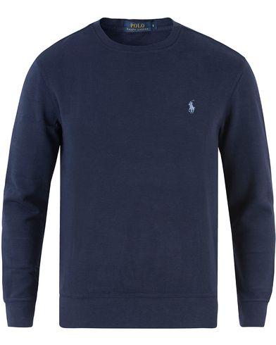 Polo Ralph Lauren Double Jersey Sweatshirt Cruise Navy i gruppen Tröjor / Sweatshirts hos Care of Carl (13484611r)