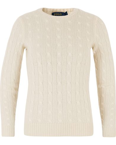 Polo Ralph Lauren Woman Julianna Cashmere Cable Heritage Cream i gruppen Accessoarer hos Care of Carl (13485411r)