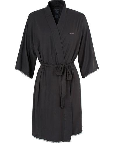 Calvin Klein Woman Modal Night Robe Black i gruppen Accessoarer hos Care of Carl (13486511r)