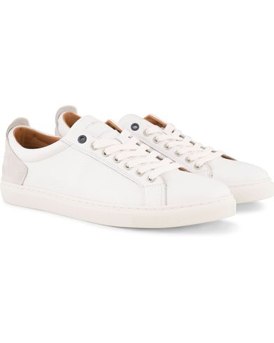 Tommy Hilfiger Mount 11 A  Leather Sneaker White i gruppen Skor / Sneakers / Låga sneakers hos Care of Carl (13486811r)