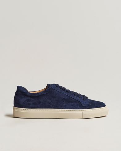 Sweyd Sneaker Navy Suede i gruppen Skor / Sneakers / Låga sneakers hos Care of Carl (13488011r)