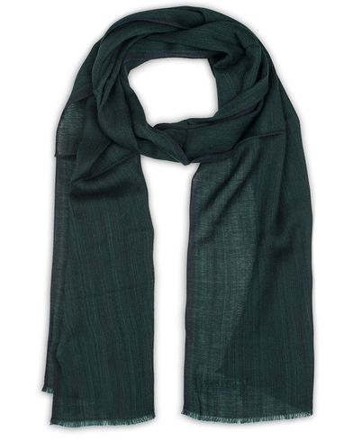 Tiger of Sweden Torsson Silk/Wool Scarf Green  i gruppen Accessoarer / Scarves hos Care of Carl (13488910)