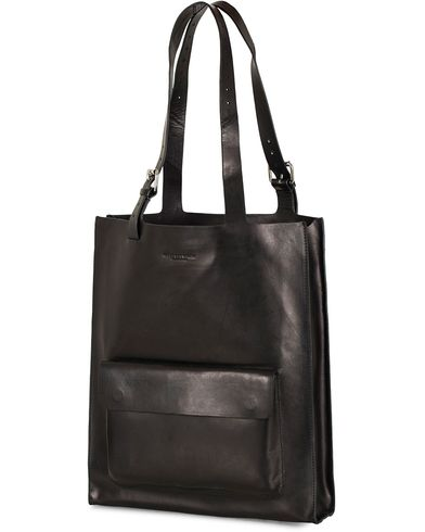 Tiger of Sweden Agueli Leather Tote Bag Black  i gruppen Väskor / Totebags hos Care of Carl (13489810)