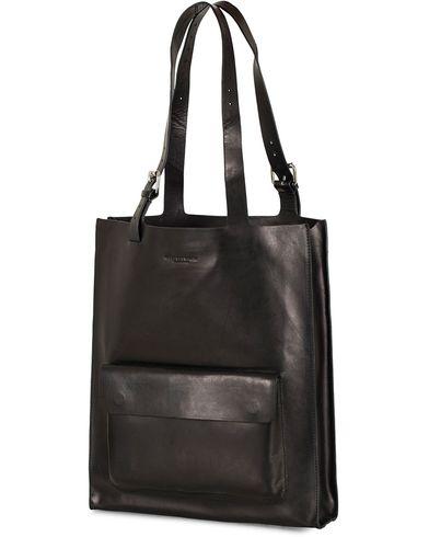 Tiger of Sweden Agueli Leather Tote Bag Black  i gruppen Design A / Väskor / Totebags hos Care of Carl (13489810)