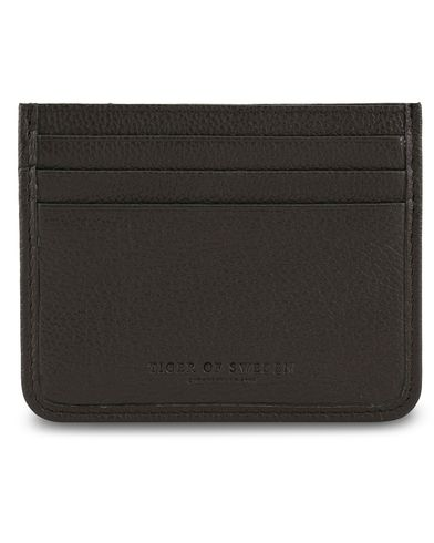 Tiger of Sweden Gleizes Leather Cardholder Black  i gruppen Accessoarer / Plånböcker / Korthållare hos Care of Carl (13491110)