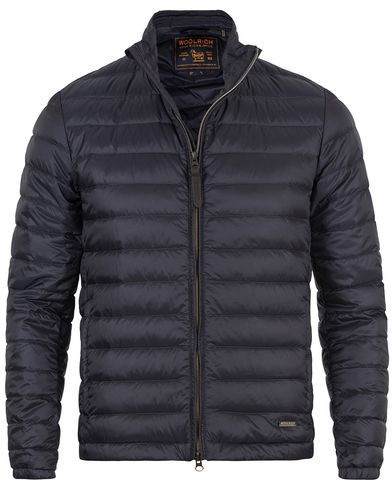 Woolrich Sundance Lightweight Down Jacket Navy i gruppen Design A / Jackor / Vadderade jackor hos Care of Carl (13493811r)