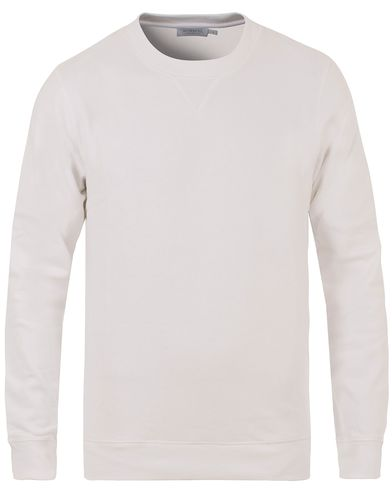 Sunspel Loopback Sweatshirt White i gruppen Tröjor / Sweatshirts hos Care of Carl (13494611r)
