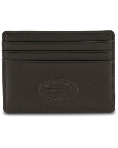 Tommy Hilfiger Eton CC Leather Cardholder  Black  i gruppen Accessoarer / Plånböcker / Korthållare hos Care of Carl (13494810)