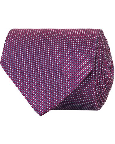 Eton Silk 8 cm Tie Pink/Red  i gruppen Accessoarer / Slipsar hos Care of Carl (13495610)