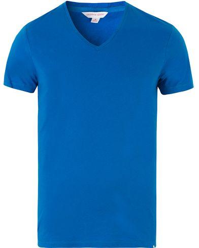 Orlebar Brown OB V-Neck Tee Maritime i gruppen T-Shirts / Kortärmade t-shirts hos Care of Carl (13500311r)