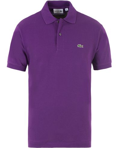 Lacoste Original Polo Piké Cosaque Purple i gruppen Pikéer / Kortärmade pikéer hos Care of Carl (13501411r)