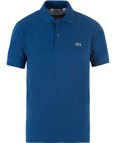 Lacoste Original Polo Piké Ink Well i gruppen Kläder / Pikéer / Kortärmade pikéer hos Care of Carl (13501811r)