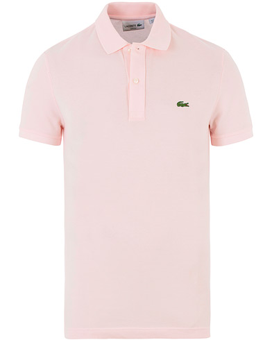 Lacoste Slim Fit Polo Piké Flamingo i gruppen Design A / Pikéer / Kortärmade pikéer hos Care of Carl (13503511r)