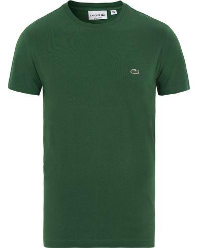 Lacoste T-Shirt Vert i gruppen T-Shirts / Kortärmade t-shirts hos Care of Carl (13504811r)