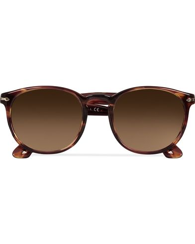 Persol 0PO3157S Round Sunglasses Brown/Violet Tortoise  i gruppen Accessoarer / Solglasögon / Runda solglasögon hos Care of Carl (13505010)