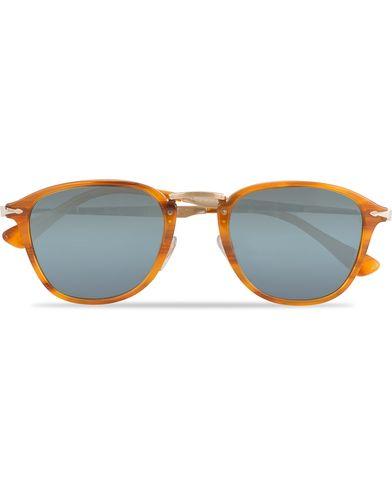 Persol 0PO3165S Sunglasses Light Brown  i gruppen Solglasögon / D-formade solglasögon hos Care of Carl (13505710)