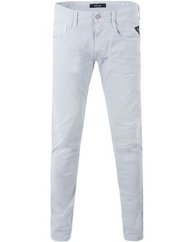 Replay M914 Anbass Jeans Washed Grey i gruppen Kläder / Jeans / Avsmalnande jeans hos Care of Carl (13507111r)