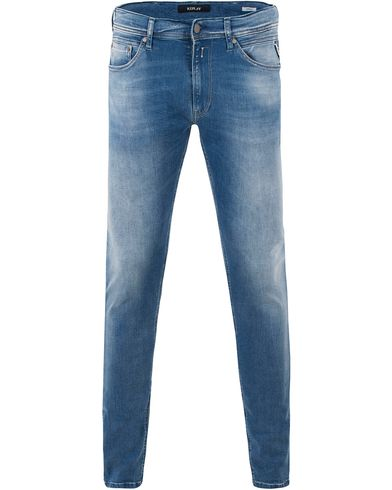Replay MA931 Jondrill Jeans Washed Light Blue i gruppen Kläder / Jeans / Smala jeans hos Care of Carl (13507411r)