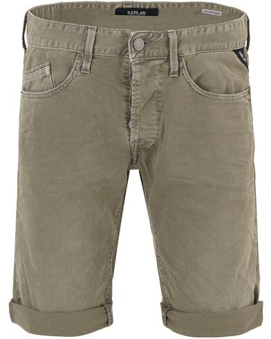 Replay M997B Jeans Shorts Washed Green i gruppen Kläder / Shorts / Jeansshorts hos Care of Carl (13508211r)