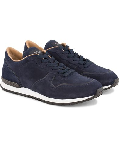 Tod's Active Running Sneaker Navy Suede i gruppen Skor / Sneakers / Running sneakers hos Care of Carl (13510611r)
