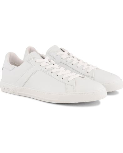 Tod's New Cassetta Sneaker White Calf i gruppen Skor / Sneakers / Låga sneakers hos Care of Carl (13511311r)