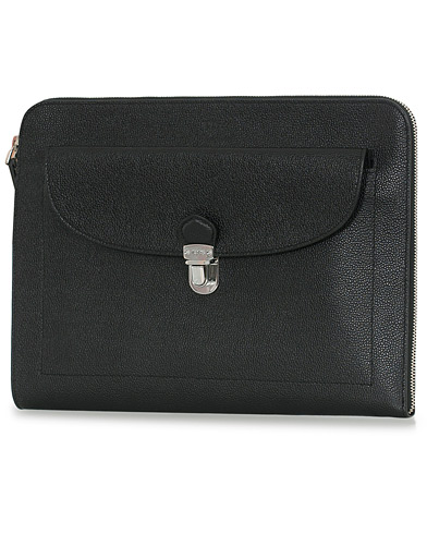 Tod's Tuc Document Case Grained Black  i gruppen Accessoarer / Väskor / Portfolios hos Care of Carl (13511510)