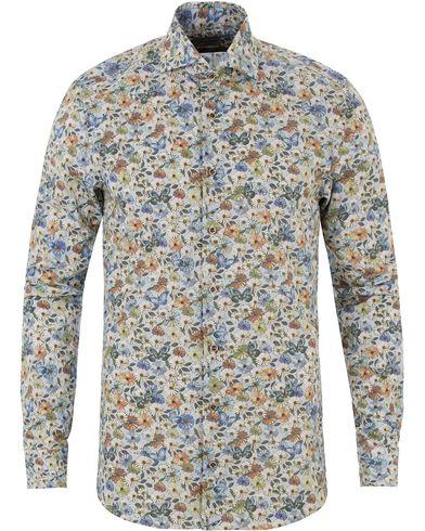 Stenströms Slimline Printed Flower Shirt Multi i gruppen Kläder / Skjortor / Casual skjortor hos Care of Carl (13513611r)