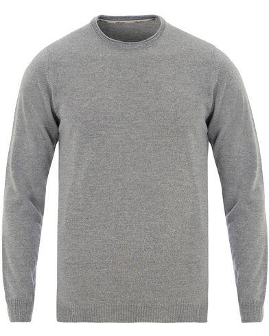 Stenströms Knitted Crew Neck Grey Melange i gruppen Kläder / Tröjor / Pullovers / Rundhalsade pullovers hos Care of Carl (13514311r)