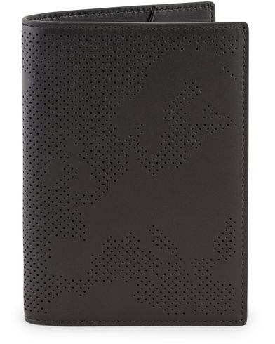 Smythson Piccadilly Passport Cover Black  i gruppen Accessoarer / Plånböcker / Reseplånböcker hos Care of Carl (13520010)