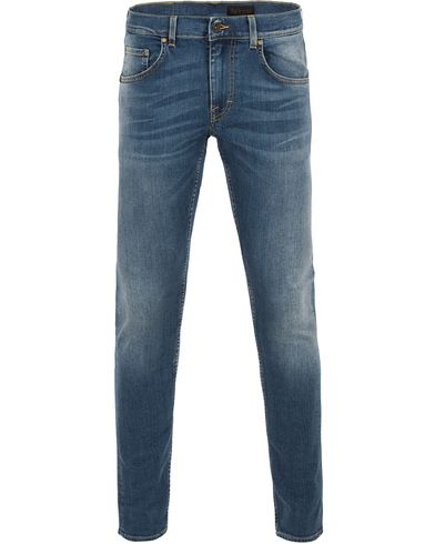 Tiger of Sweden Jeans Slim Park Jeans Medium Blue i gruppen Design B / Kläder / Jeans / Smala jeans hos Care of Carl (13521411r)