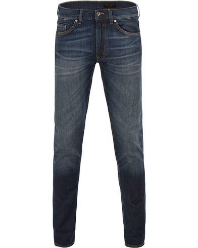 Tiger of Sweden Jeans Straw Reign Jeans Dark Blue i gruppen Kläder / Jeans / Smala jeans hos Care of Carl (13522211r)