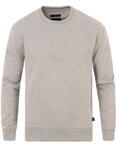 Tiger of Sweden Jeans Buzz Crew Neck Sweatshirt Grey i gruppen Tröjor / Sweatshirts hos Care of Carl (13523311r)