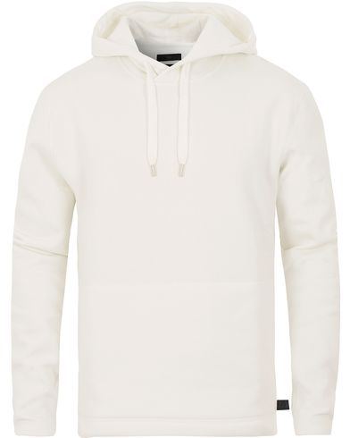 Tiger of Sweden Jeans Boogie Printed Hoodie White i gruppen Tröjor / Huvtröjor hos Care of Carl (13523911r)