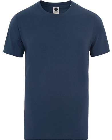 NN07 Pima Plain Tee 3208 Blue i gruppen T-Shirts / Kortärmade t-shirts hos Care of Carl (13525511r)