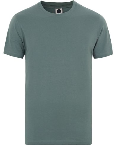 NN07 Pima Plain Tee 3208 Green i gruppen T-Shirts / Kortärmade t-shirts hos Care of Carl (13525611r)