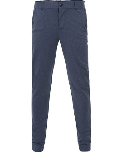 Tommy Hilfiger Inger Denim Sweatpants Midnight i gruppen Kläder / Byxor / Mjukisbyxor hos Care of Carl (13526511r)