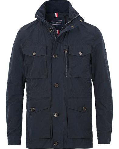 Tommy Hilfiger Andrew Field Jacket Midnight i gruppen Jackor / Fieldjackor hos Care of Carl (13528011r)